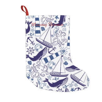 Fun in the Sea Small Christmas Stocking