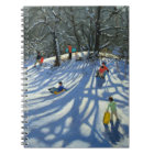 Fun in the snow Morzine France Notebook