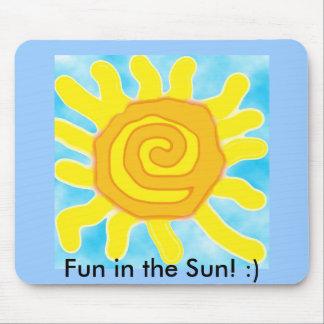Fun in the Sun! :) Mousepad