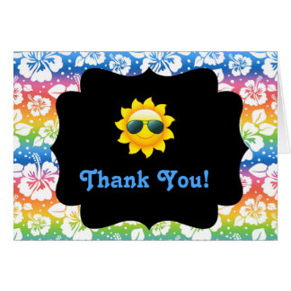 Fun In The Sun Thank You Card