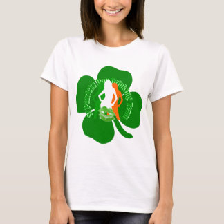 Fun Irish girls St Patricks day drinking T-Shirt