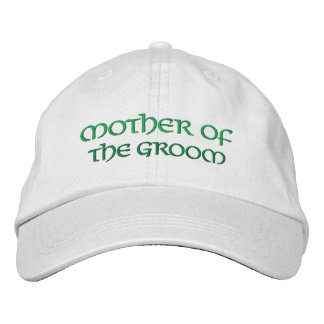 Fun Irish Mother of the Groom Wedding Hat Embroidered Hat