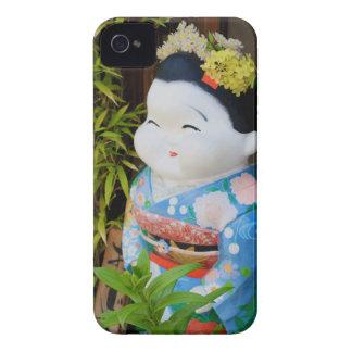 Fun Japanese Girl in Kimono Blackberry Case