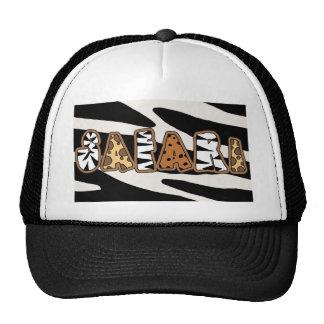 Fun Jungle Safari Theme Cap Hat