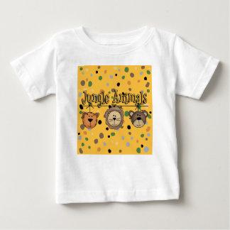 Fun Jungle Theme Wild Animal Friends T-Shirt