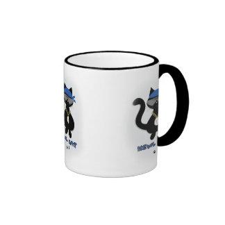 Fun Kewl Black Cat Lover Mug