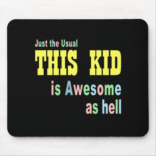 Fun kid ideas mousepads