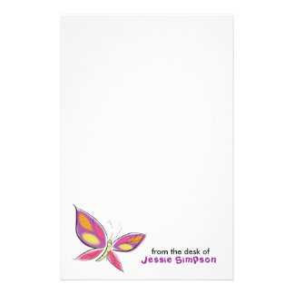 Fun Kids' Personalized Stationery