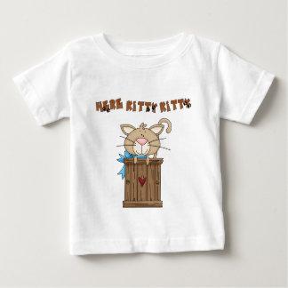Fun Kitty T-Shirt Here Kitty Kitty