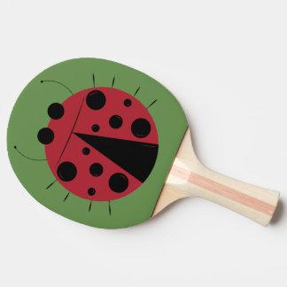 Fun Ladybug Design Ping Pong Paddle