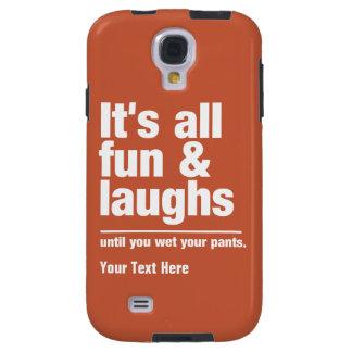 FUN & LAUGHS custom color cases