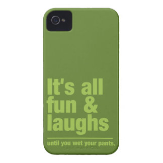 FUN & LAUGHS custom color iPhone case