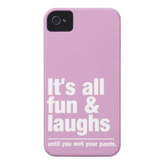 FUN & LAUGHS custom color iPhone case-mate