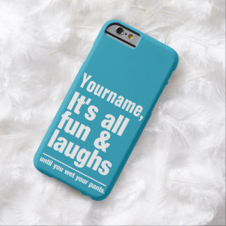 FUN & LAUGHS custom color & text cases