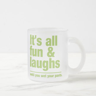 FUN & LAUGHS mug - choose style & color