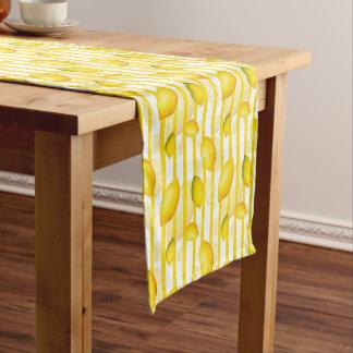 Fun Lemon Citrus fruit table runner home decor