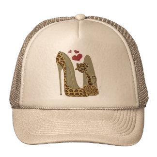 Fun Leopard Stiletto's and Cat Cap