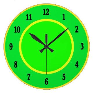 Fun Lime and Lemon  Wall Clock