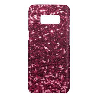 Fun Magenta Pink Faux Glitter Sparkle Print Case-Mate Samsung Galaxy S8 Case