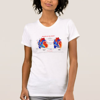 Fun Medical Student Tee-on The Heart T-Shirt