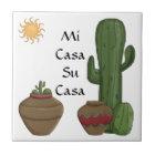 Fun Mi Casa Su Casa Welcome Spanish Greeting Tile