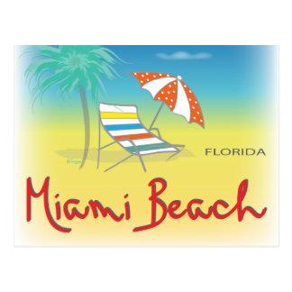 Fun Miami Beach, FL Fun Cool Postcard
