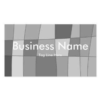 Fun Mirror Checks Business Card Templates