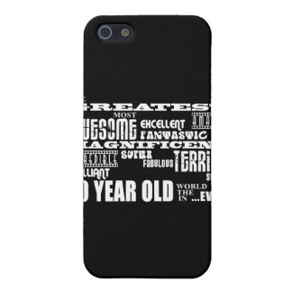 Fun Modern 10 Birthday Party Greatest Ten Year Old iPhone 5 Cases