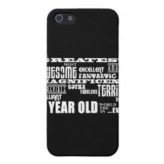 Fun Modern 9 Birthday Party Greatest Nine Year Old Case For iPhone 5