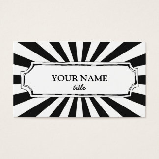 Fun & Modern Business Card