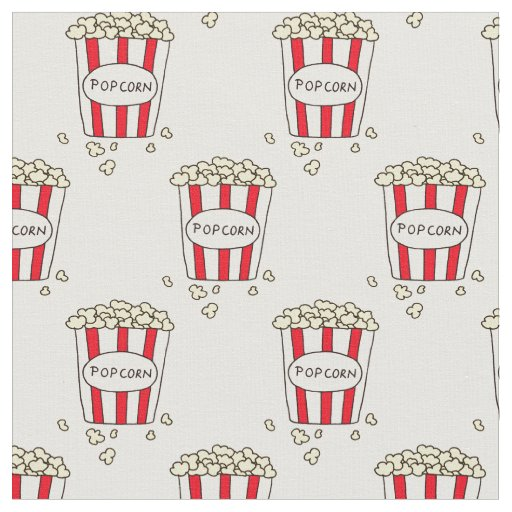 Fun Movie Theatre Popcorn in Bucket for Sewing
