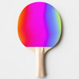 Fun Multicolored Rainbow-Like Pattern Paddle