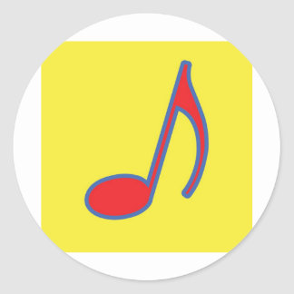 Fun Music Stickers and Cards