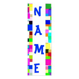 Fun Name Card Pack Of Skinny Business Cards