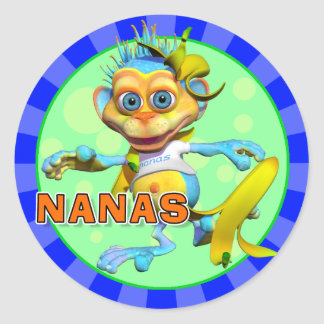 Fun Nanas Stickers