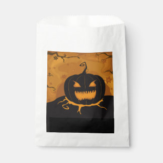 Fun Night Halloween Favor Bags