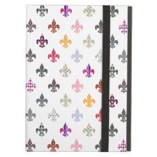 Fun Novelty Fleur de Lis Pattern Cover For iPad Air