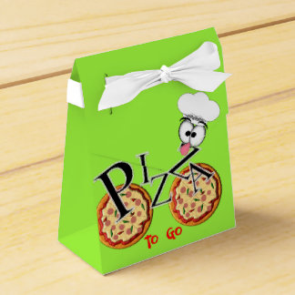 Fun Novelty Pizza To Go Favour Box