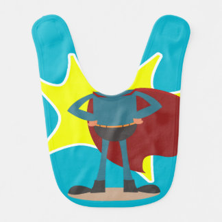 Fun Novelty Superhero Bib