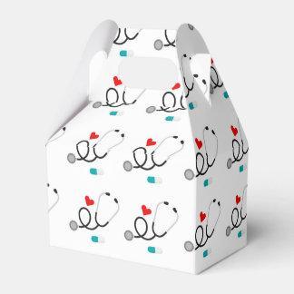 Fun nurse pattern party box
