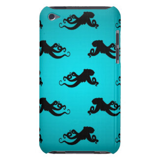 Fun Octopus Pattern on Bright Turquoise iPod Touch Covers