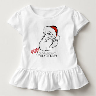 Fun Old-Fashioned Family Christmas Shirt for Kids