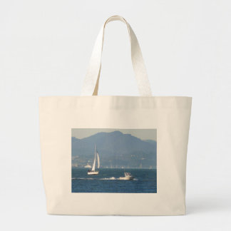 Fun On San Francisco Bay Jumbo Tote Bag