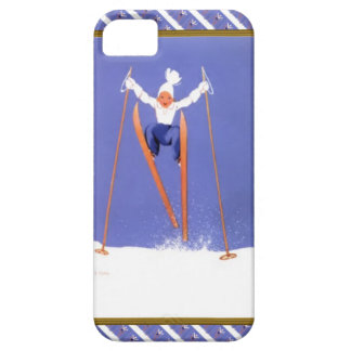 Fun on skis barely there iPhone 5 case