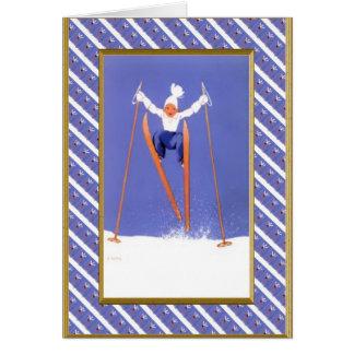 Fun on skis card