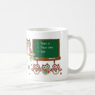 Fun Owl Design Teacher Appreciation Gift Mugs