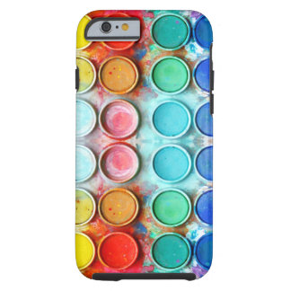 Fun paint color box tough iPhone 6 case