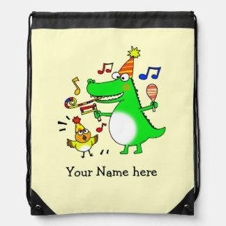 fun party animals - just add name rucksacks