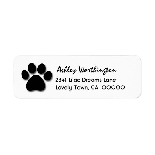Fun Paw Print for Dog Lover V01