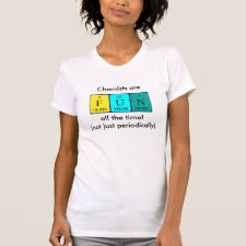 Chemists are fun customisable shirt